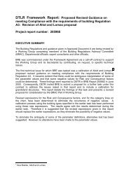 Revised guidance on meeting compliance with ... - Planning Portal
