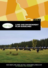 LEP guidelines level 3 - Beef + Lamb New Zealand