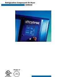 Refrigeration Compressed Air Dryer BOREAS - odms.net.au