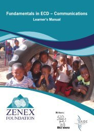 Fundamentals in ECD – Communications - South African Institute for ...