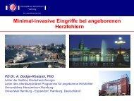Minimal-invasive Chirurgie - Universitätsklinikum Hamburg-Eppendorf