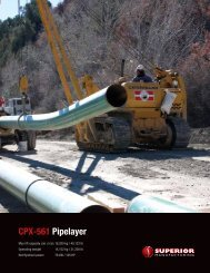 CPX-561 Pipelayer - Worldwide Machinery
