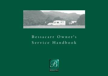 Bessacarr Owner's Service Handbook - Swift Group