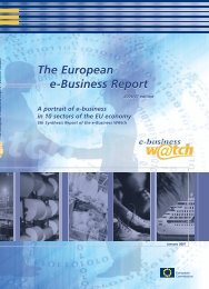 The European e-Business Report The European e ... - empirica