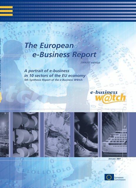 The European e-Business Report The European e ... - empirica