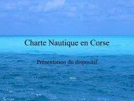 Charte Nautique en Corse - DREAL Corse