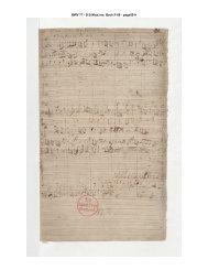 BWV 77 - D B Mus. ms. Bach P 68 - page001r
