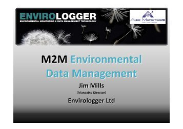 13. Jim Mills - Envirologger Falkirk - Scottish Sensor Systems Centre