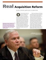 Real Acquisition Reform