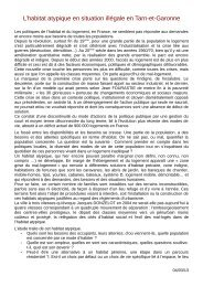 Etude Habitat atypique - Pays Midi-Quercy