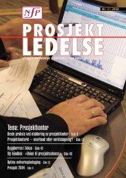 Nr. 2-2004 omslag - Norsk senter for prosjektledelse - NTNU