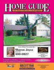 Sharon Joyce 400-0827 - Home Guide of Yolo County, CA