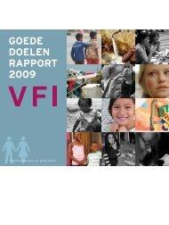 GOEDE DOELEN RAPPORT 2009 - CBF