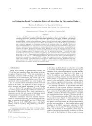 An Estimation-Based Precipitation Retrieval Algorithm - Graeme ...