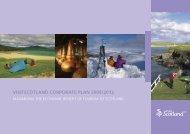 VISITSCOTLAND CORPORATE PLAN 2009/2012 - VisitScotland.org