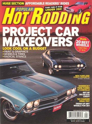Popular Hot Rodding - April 2007 - Vintage Wheel Works