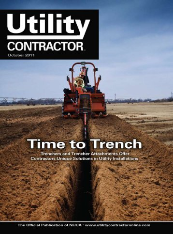 View Full October PDF Issue - Utility Contractor Magazine