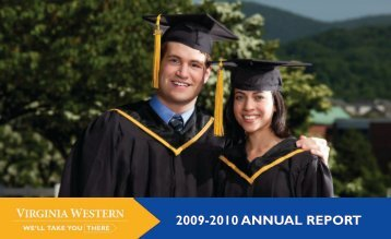 2009-2010 ANNUAL REPORT - Virginia Western Community College