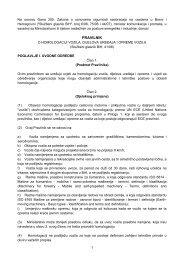 Pravilnik o homologaciji vozila, dijelova uređaja i opreme ... - bihamk