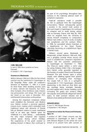 GUEST ARTIST BIOGRAPHIES - Milwaukee Symphony Orchestra