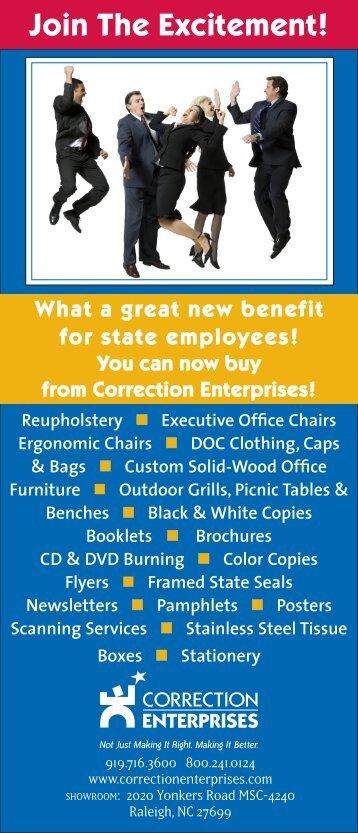 Join The Excitement! - Correction Enterprises