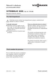 Vitosolic 200 - Viessmann