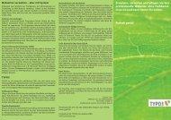 Laden Sie sich den kompakten Flyer herunter (PDF - Vincent Tietz