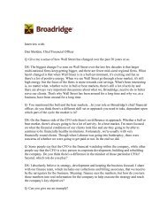 print friendly - Broadridge