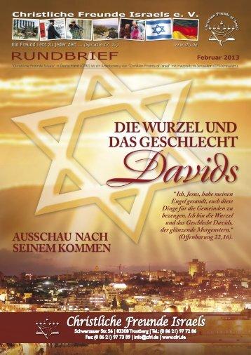 2013 Februar Die Wurzel und das Geschlecht Davids - Christliche ...