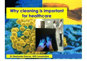 Why cleaning is important for healthcare - ISSA.com