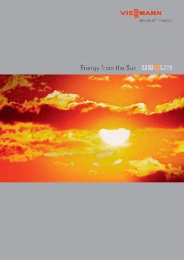 Energy from the Sun - Viessmann