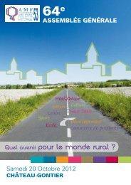 Rapport d'activité 2012 - AMF53