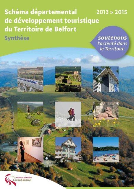 Schéma départemental de développement ... - Belfort Tourisme