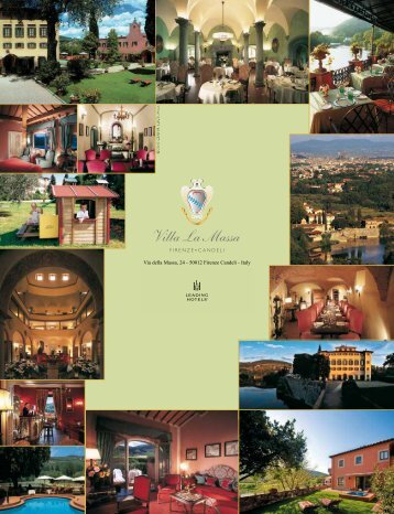 Flyer Villa la Massa