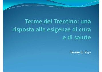 Terme di Pejo - Trentino Salute