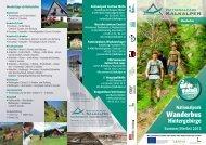 Wanderbus - Nationalparks Austria