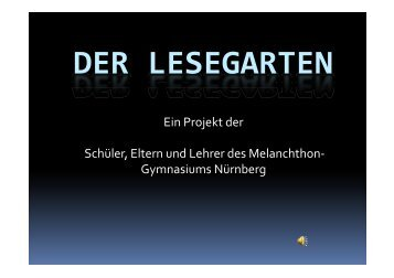 Der Lesegarten - Ebius-stiftung.de