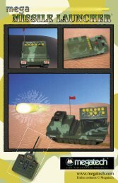 Megatech MEGA Missile Launcher - High Definition Radio Control
