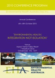 2010 conference program - Australian Water Association