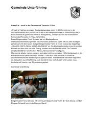 Gemeinde Unterföhring - Veranstaltungen in Bayern
