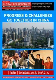 GLOBAL PERSPECTIVES January 2011   Japan Edition