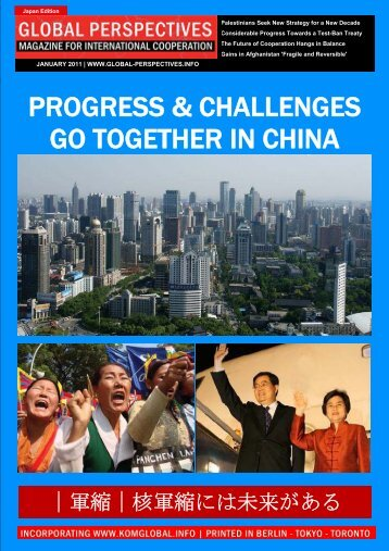 GLOBAL PERSPECTIVES January 2011 | Japan Edition