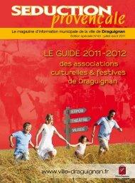 LE GuidE 2011-2012 des associations culturelles ... - Draguignan