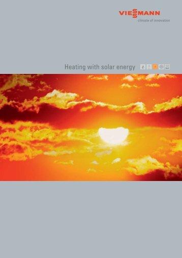 Heating with solar energy - Viessmann