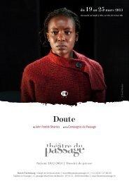 du 19au 25mars 2013 - Théâtre du Passage