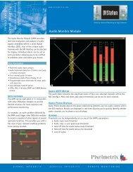 Audio Monitor Module - Pixelmetrix