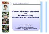 Richtlinie der Bundesärztekammer zur Qualitätssicherung ... - QCNet