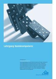 Lehrgang Basiskompetenz - Stephan Wegelin