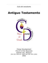 Antiguo Testamento - USA / Canada Region