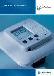 Electrical Accessories - Becker-Antriebe
